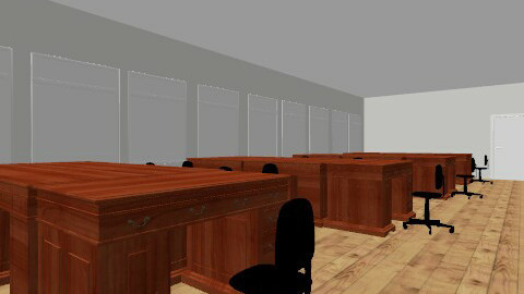 Main office - Retro - Office - by AngeK