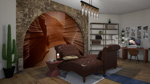 Mind the Gap - Rustic - Living room - by Abba__Connally