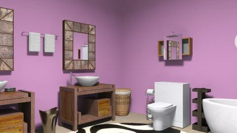 Cool Bathroom - Modern - Bathroom - by yankees2
