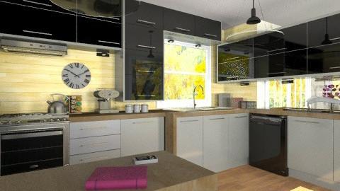 G kitchen - Modern - Kitchen - by Bibiche