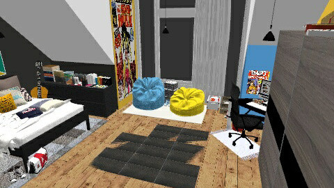 project22 - Bedroom - by Lin Lin