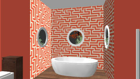 bathroom - Modern - by Caitlin Johnston