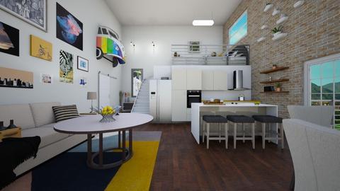 loft - Bedroom - by jardin2000