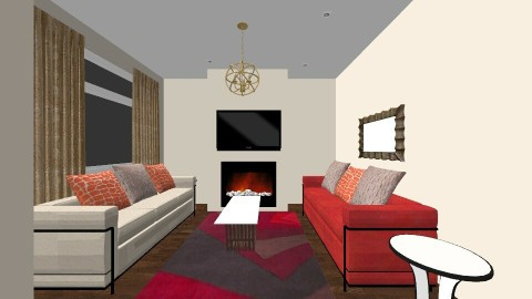 Apartment 2 Living room - by Ibari