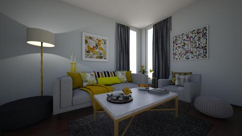 Simple Playful Living - Modern - Living room - by Nina Colin