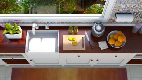 Morning routine - Kitchen - by meggle