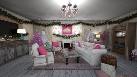 Shabby Chic Living - Living room - by jjp513