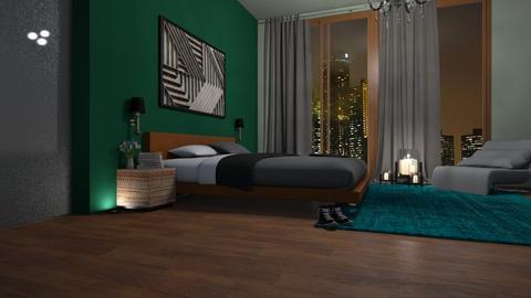 bedroom - by cuneyt oznur