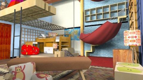 Amazing Spiderman - Classic - Kids room - by gertjanvanderwel