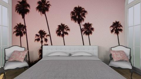 Pinkbedroom - Bedroom - by Tatjanaa Linsenn