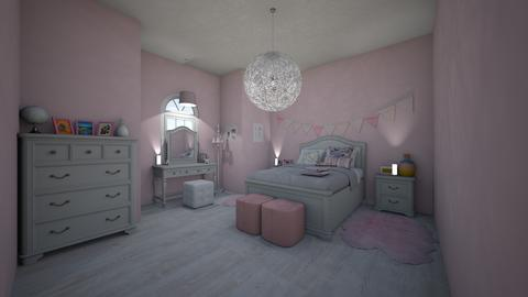 girly girl dream bedroom  - Modern - Bedroom - by jade1111