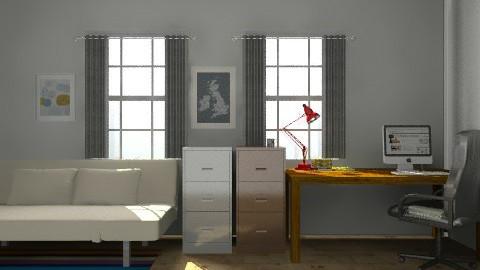 office room/ bedroom - Modern - by bethris