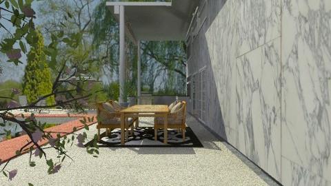 Backyard - Modern - Garden - by elainny_0