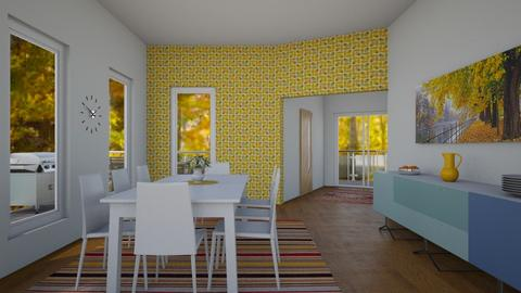 trees in autum - Dining room - by thompsoni