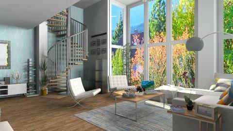 warm - Modern - Living room - by annyvgv