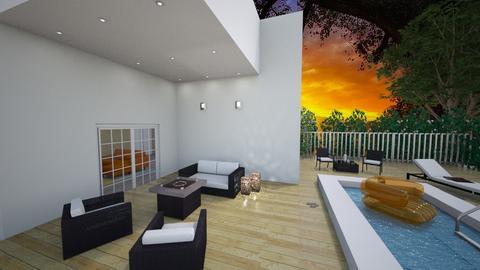 backyard pool - by antonieta123