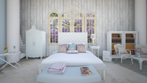 Liliac  - Glamour - Bedroom - by Calolynn