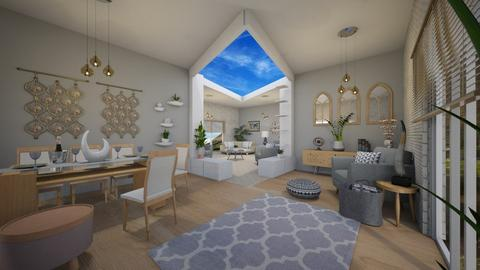 Emma - Living room - by 80monkey