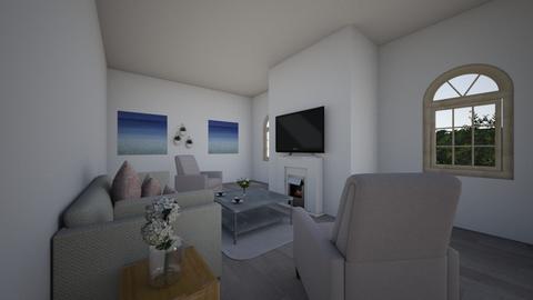Beach Room - Living room - by bebe_bazemore22