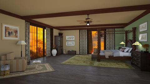 Karen Blixen - Country - Bedroom - by deleted_1524667005_Elena68