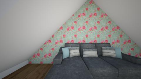 studentenhuisj - Living room - by lisannep