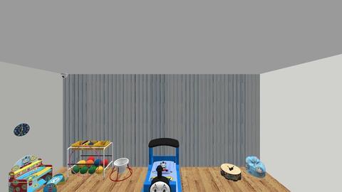 thomas - Kids room - by HaileySm23