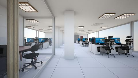 open space frontal - Office - by astricella