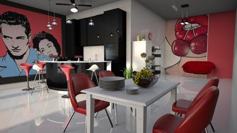 Pop Art Kitchen - Kitchen - by ZuzanaDesign