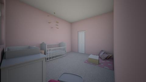 Pink Nursery - Feminine - Kids room - by Infinity_Girl86