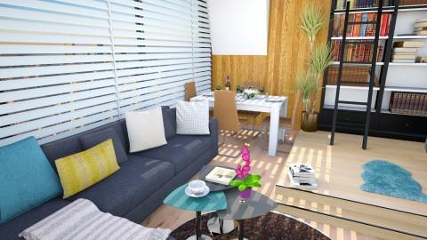studio - Living room - by Inokentijroom