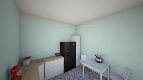mint kitchen - Classic - Kitchen - by mousem270