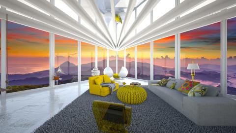The vieuw - Retro - Living room - by Tuubz