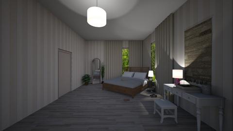 Dan and Careys Room - Modern - Bedroom - by sierraibarra