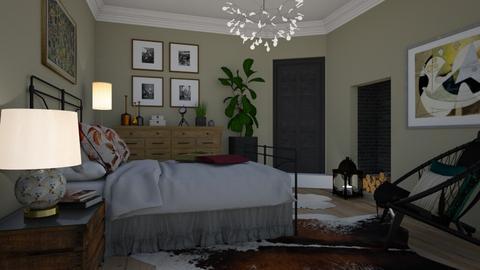 Bohemian - Bedroom - by Tuija