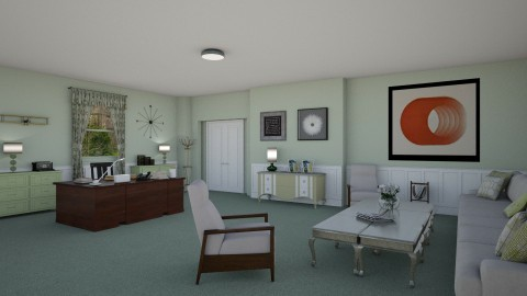 Sterling Cooper Partners - Retro - Office - by deleted_1524667005_Elena68