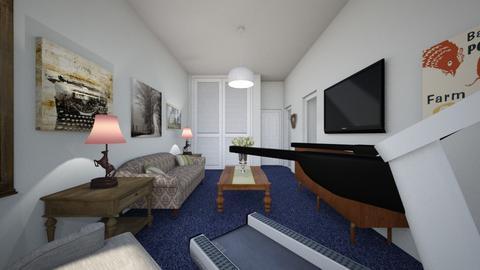 344 Clinton Street 3B 2 - Living room - by SammyJPili