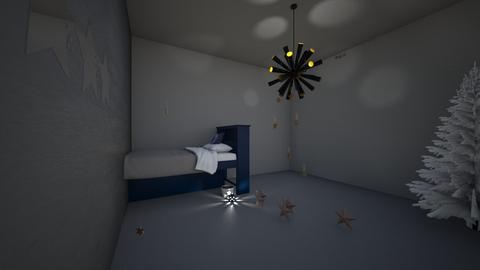 rest with christmas star - Bedroom - by Maria Jose y alex