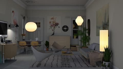 Small Space Mid Century  - Vintage - Living room - by HenkRetro1960