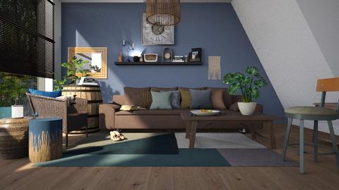 Barrel - Living room - by ZuzanaDesign