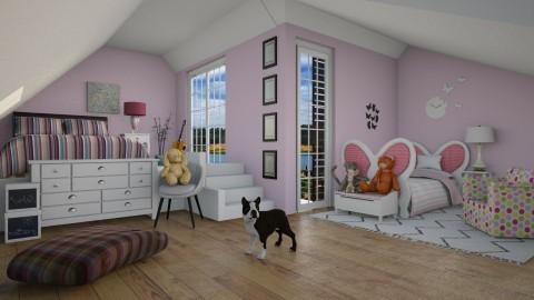 2 sisters bedroom - by Sanja Pipercic