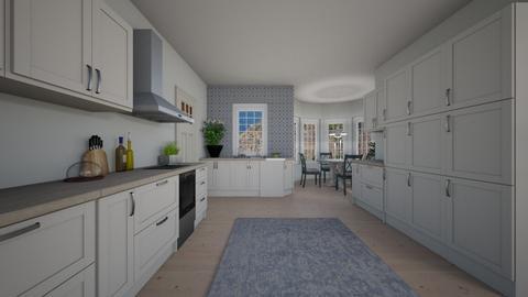 ett lanthus - Kitchen - by wilmaskold