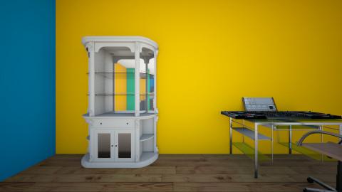 DJ - Retro - Living room - by Jason A Cline