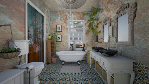 bohomian light - Vintage - Bathroom - by sometimes i am here