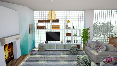 glass - Living room - by straley123456