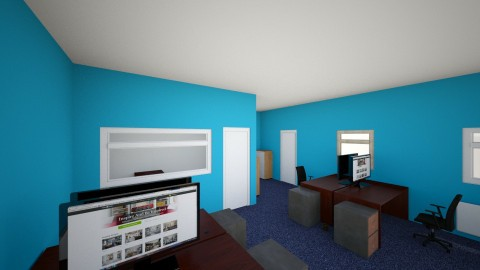 office 1 - Modern - Office - by gnacc