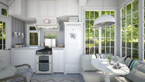 Herbes de Provence - Vintage - Kitchen - by Leyvna