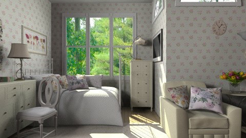 Vintage cute room - Vintage - Bedroom - by Haecinta