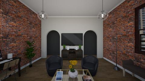 loft living room - by sashaoseguera