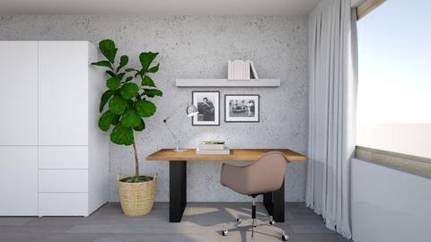 my office corner - Office - by Terka90