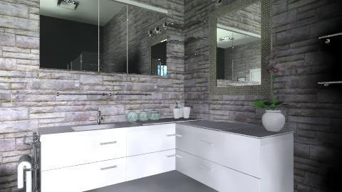 Master Bathroom - Eclectic - Bathroom - by ChantelledoRo